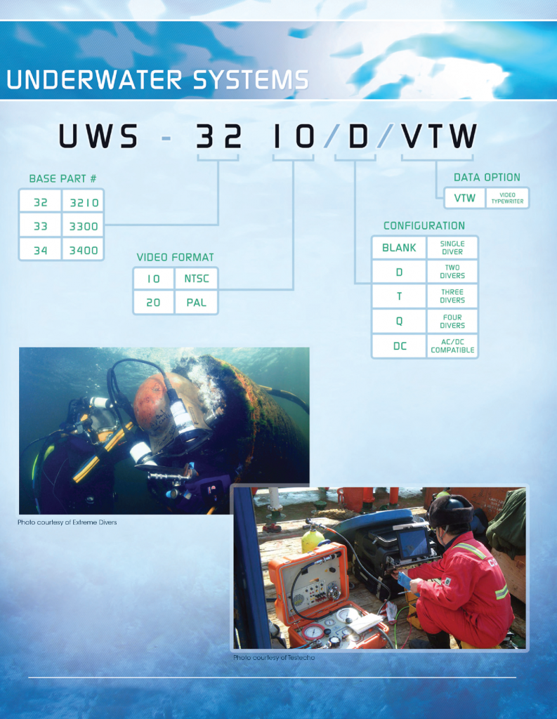 Underwater Systems Chart